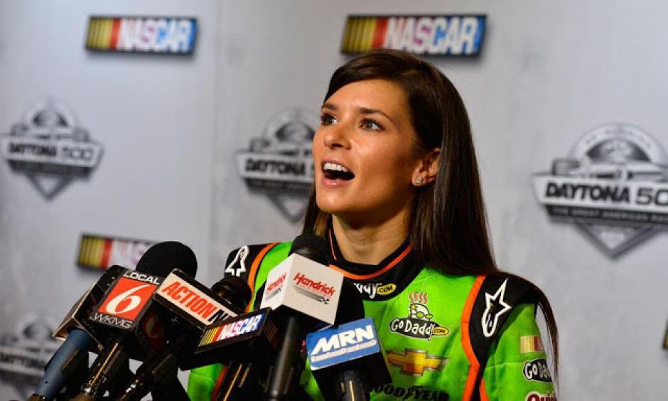 Danica Patrick es la reina del automovilismo en los Estados Unidos. (Foto: AFP)