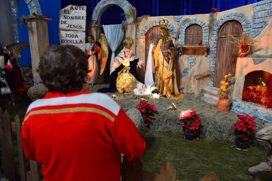 Este es el nacimiento de la iglesia La Recolección. (Foto: Jesús Alfonso/Soy502)