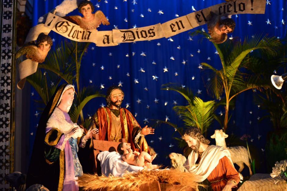 El colorido Nacimiento de la Catedral Metropolitana. (Foto: Jesús Alfonso/Soy502)