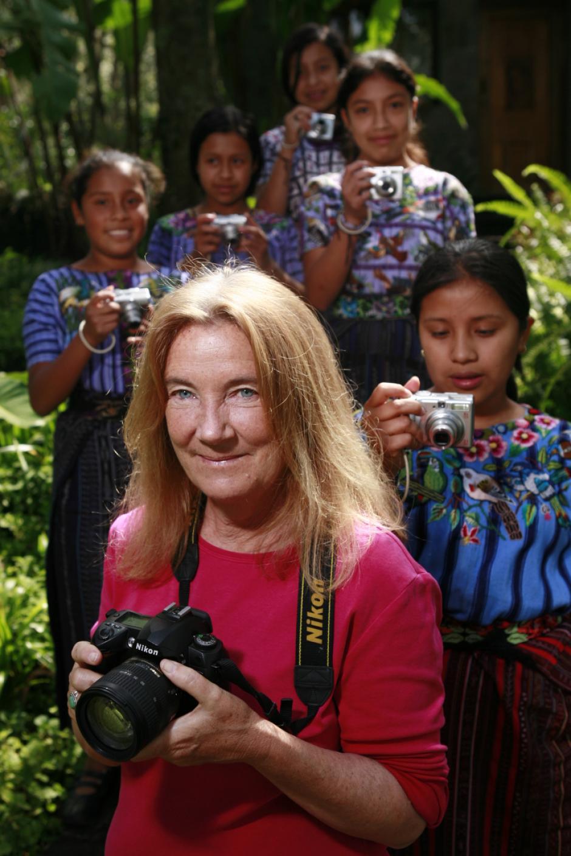 Estas fotógrafas comparten su forma de ver el mundo. (Foto: Design4Kids)