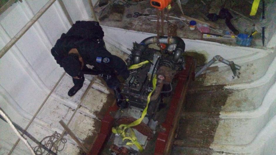 Según las autoridades, ciudadanos colombianos y nicaragüenses habrían colaborado con la fabricación del sumergible. (Foto: Ministerio de Gobernación)