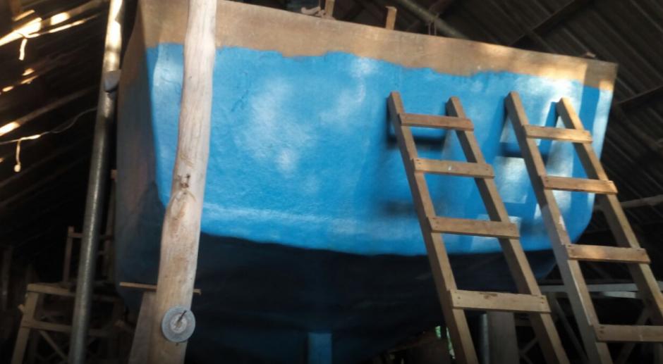 En la finca donde se localizó el sumergible no se capturó a nadie. (Foto: Ministerio de Gobernación)