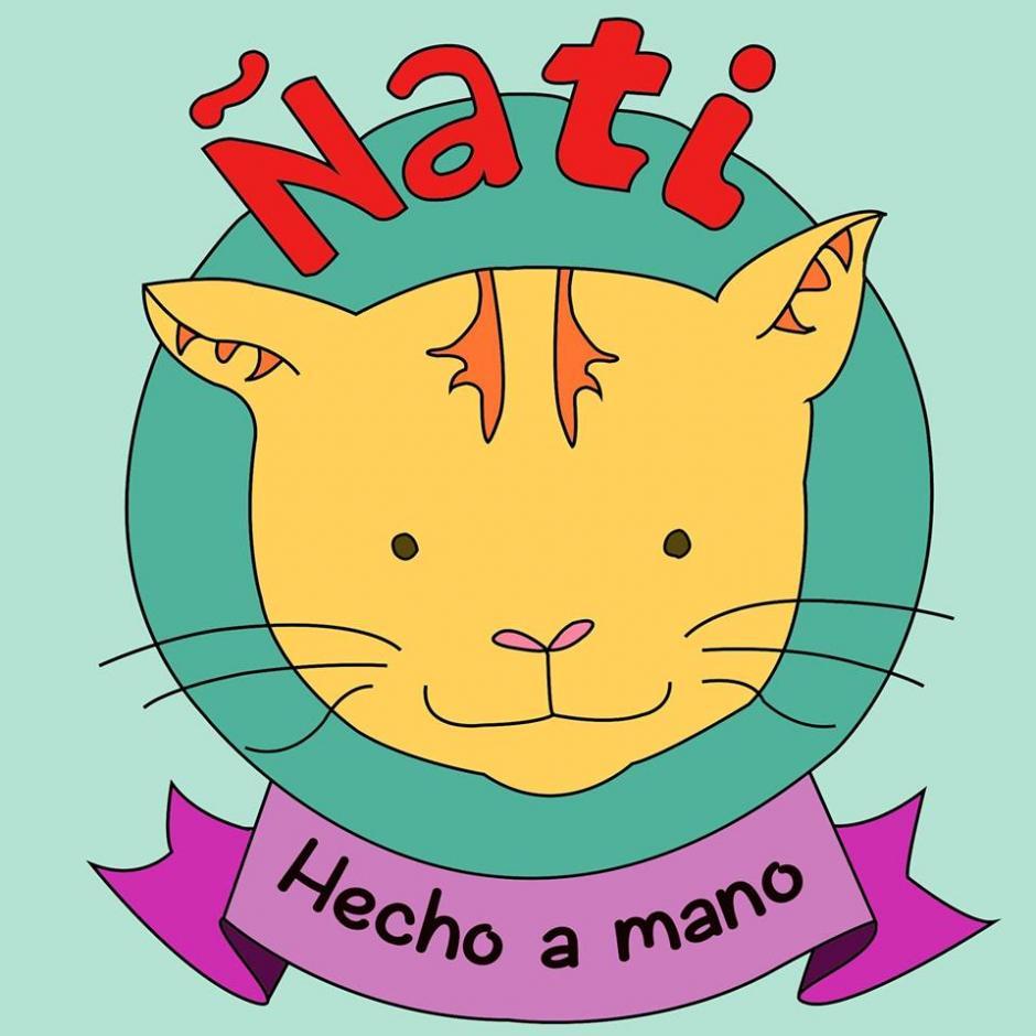 El nombre de la marca, es el nombre de su pequeño gato naranja. (Foto: Ñati)