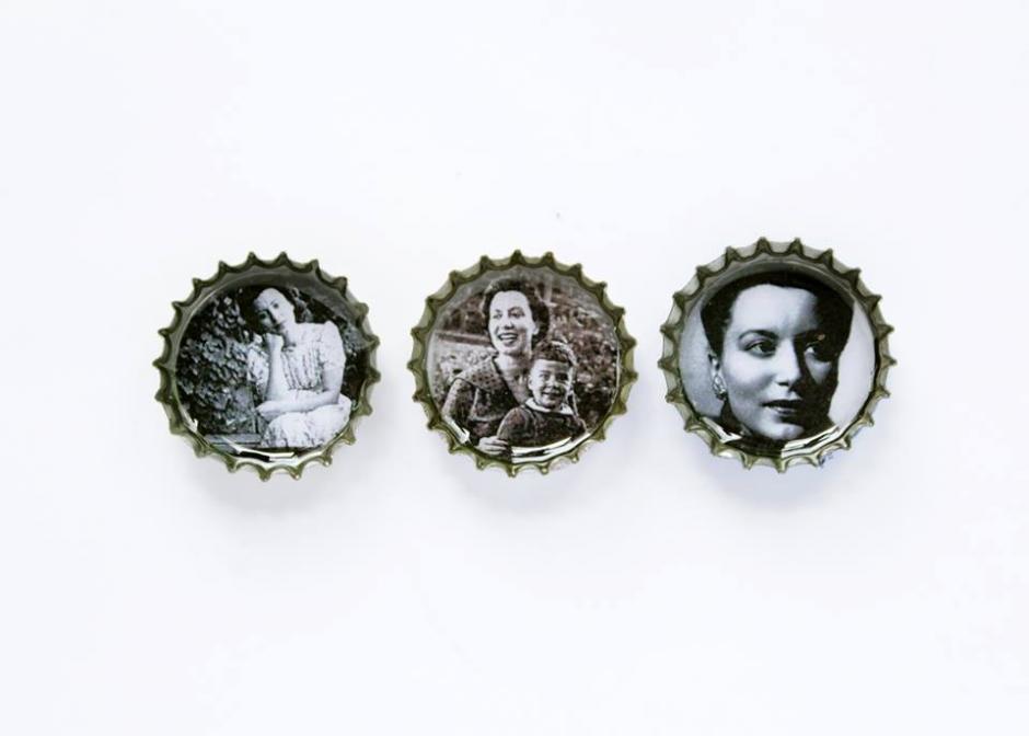 la escritora guatemalteca Alaíde Foppa no podía faltar. (Foto: Ñati)