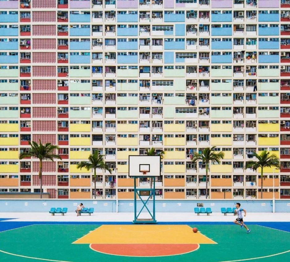 Esta compleja imagen es un reflejo de cómo se vive en China. (Foto: Wing Ka/National Geographic)