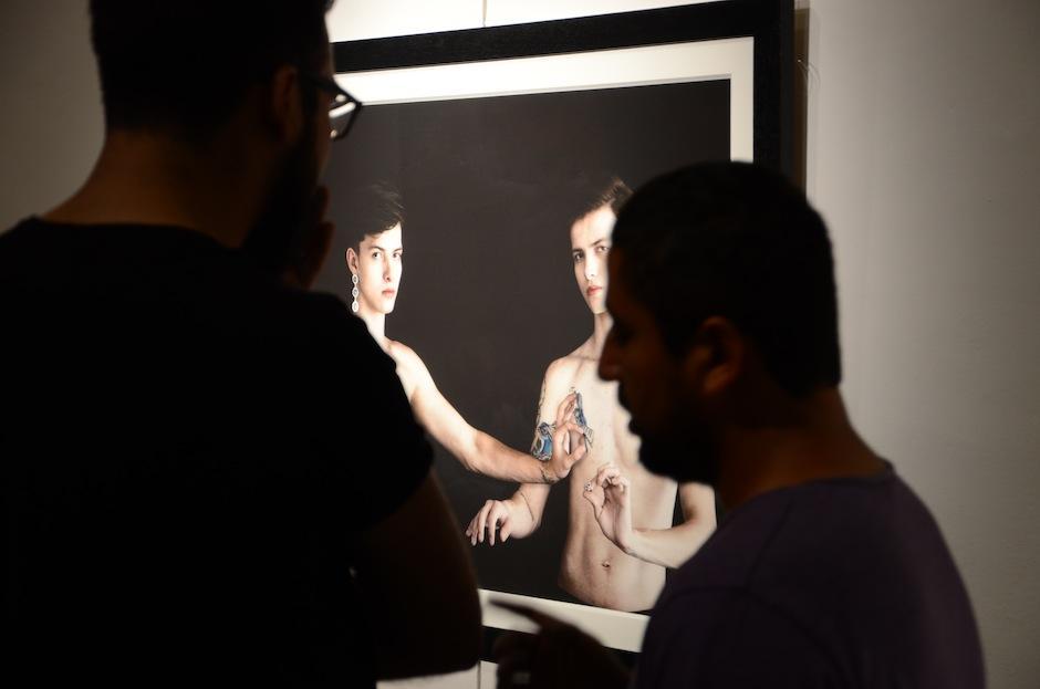 La muestra fue interpretada y discutida por los asistentes. (Foto: Selene Mejía/Soy502)