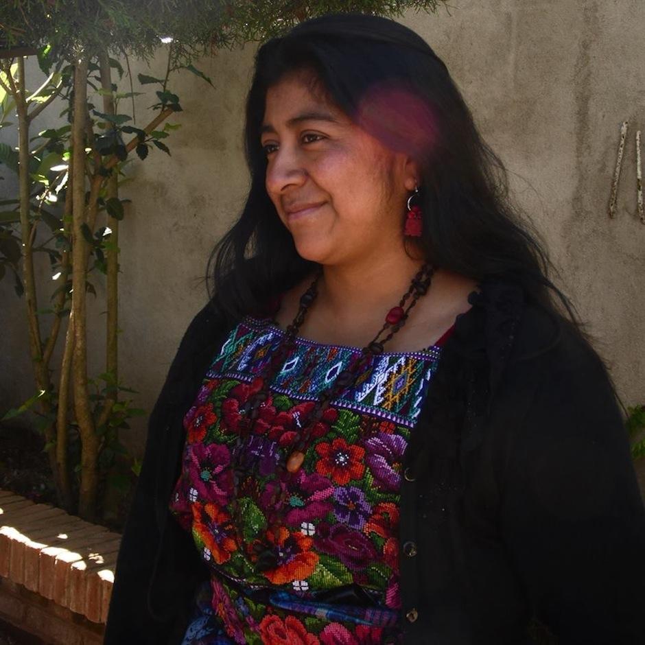 Negma Coy de San Juan Comalapa, Chimaltenango compartirá su poesía. (Foto: facebook)