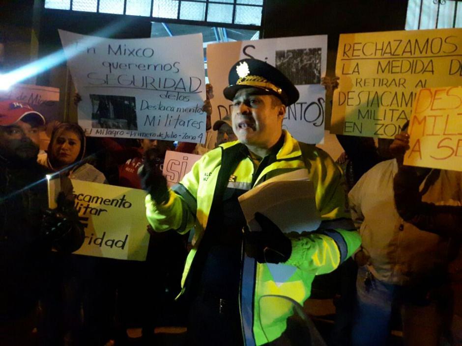 El funcionario se opone a la decisión del Organismo Ejecutivo. (Foto: Municipalidad de Mixco)