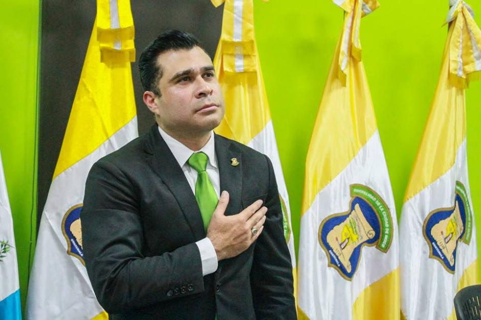 El alcalde de Mixco fue electo por el Movimiento Reformador. (Foto: Neto Bran/Facebook)