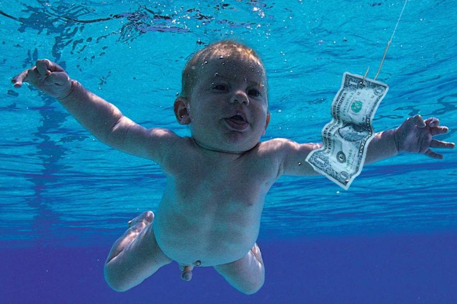 La foto de portada del álbum Nevermind de Nirvana fue tomada en 1991. (Foto: Sopitas.com)