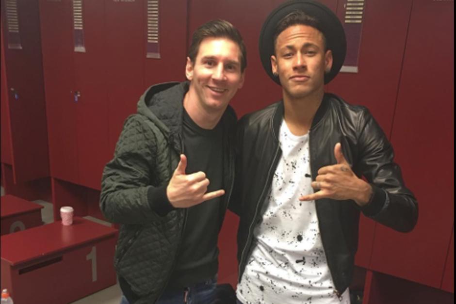 Los delanteros del Barcelona, Messi y Neymar. (Foto: Instagram)