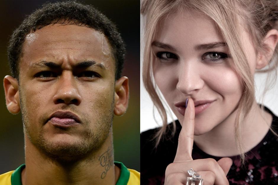 Se rumora que Neymar y Chloe Moretz tienen una relación.
