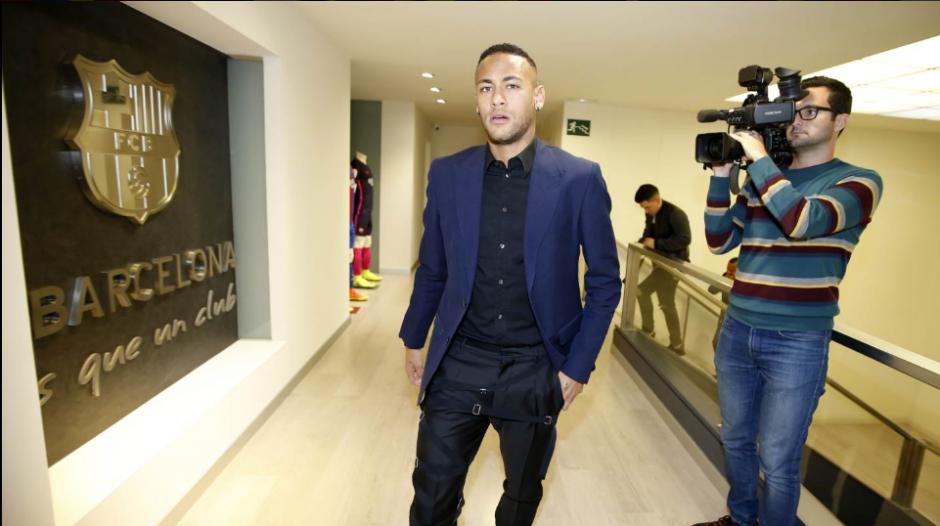 A sus 24 años, Neymar cuenta con una ascendente carrera dentro del fútbol. (Foto: Twitter/FC Barcelona)