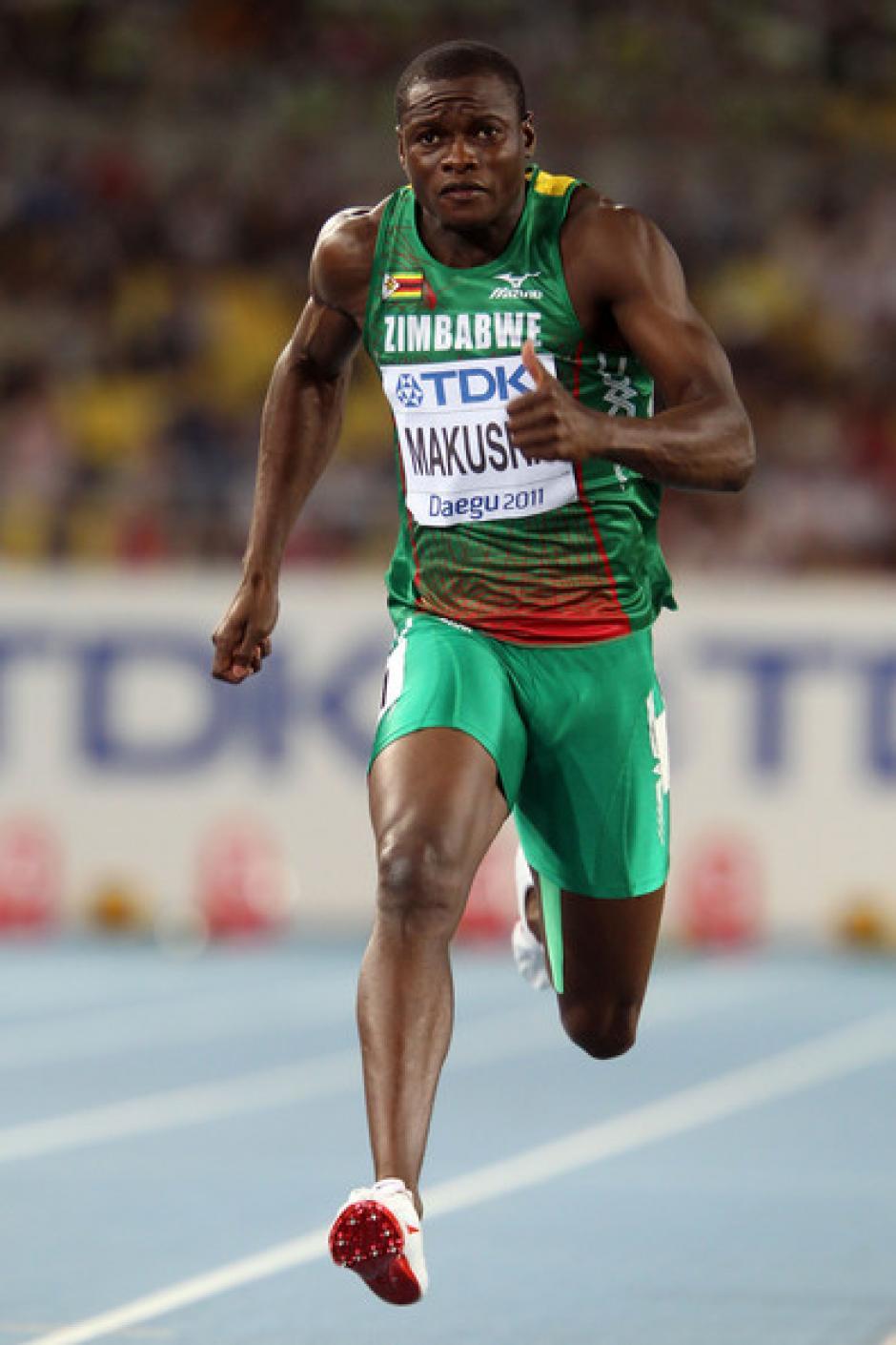 Gabriel Mvumvure, atleta de pista de Zimbabue. (Foto: Twitter)