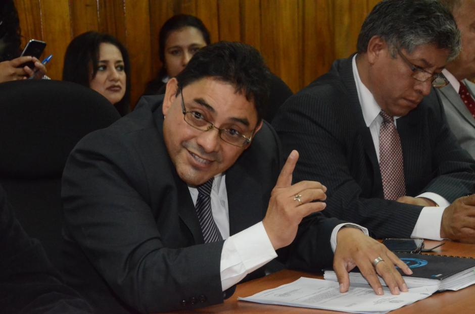 Nicolás García fue juramentado el pasado viernes y el sábado se reunió con los reos de Pavón. (Foto: cortesía José Castro)