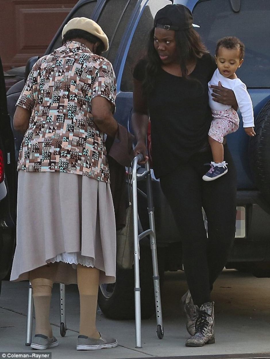 Tuvo una hija con la joven Tiffani Miles. (Foto: Daily Mail)
