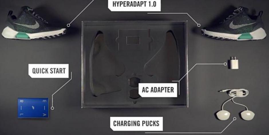 Los HyperAdapt 1.0 cuentan con un motor activado con baterías. (Foto: viveusa.mx)