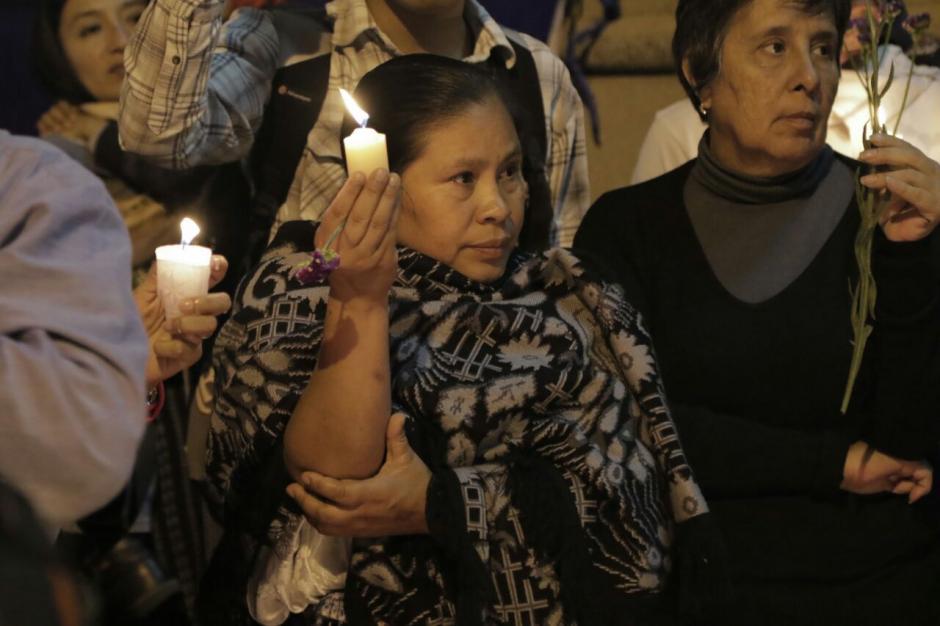 La protesta fue también silenciosa. (Foto: Alejandro Balan/Soy502)