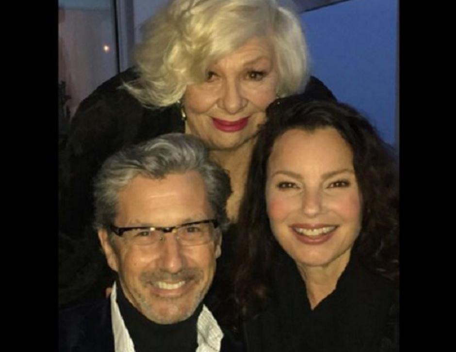 Los actores Charles Shaughnessy, Renée Taylor y Fran Drescher. (Foto: sopitas)