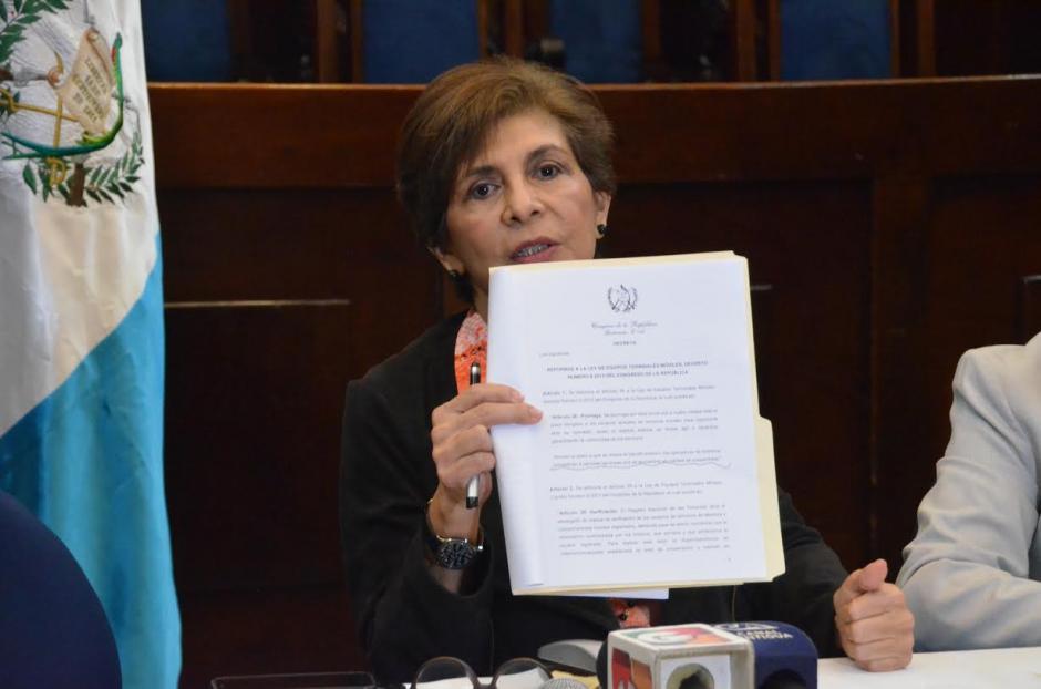 La propuesta fue presentada este miércoles en el Congreso. (Foto: cortesía José Castro)