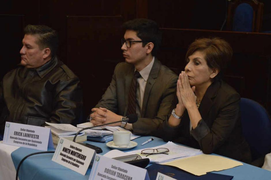 La diputada Nineth Montenegró presentó la acción de inconstitucionalidad este domingo. (Foto: Archivo/Soy502)