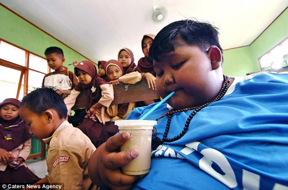 Según la madre de Arya, el niño come lo que corresponde a dos adultos. (Foto: Daily Mail)