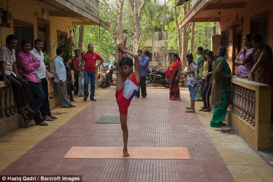 En la India es famoso por sus habilidades. (Foto: barcroft)