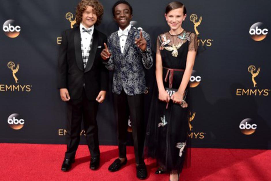 Desde la alfombra roja, los tres actores fueron los más seguidos y comentados. (Foto: AFP)