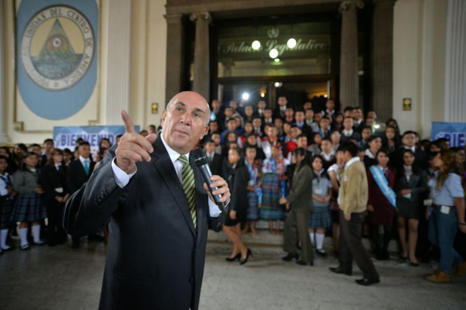 Los diputados por un día representaron a los 22 departamentos del país. (Foto: Wilder López/Soy502)
