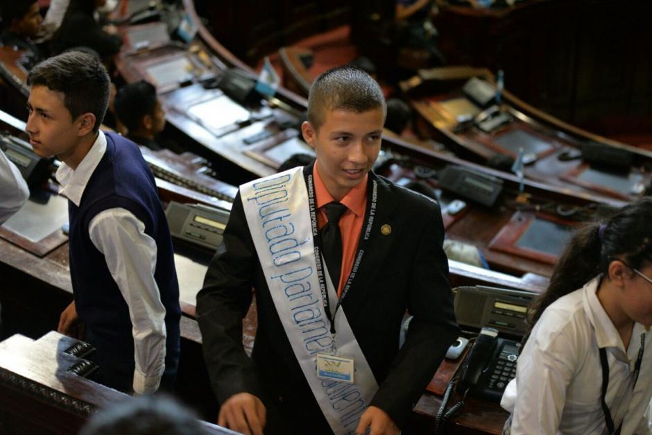 Los diputados fueron electos en concursos de oratoria. (Foto: Wilder López/Soy502)
