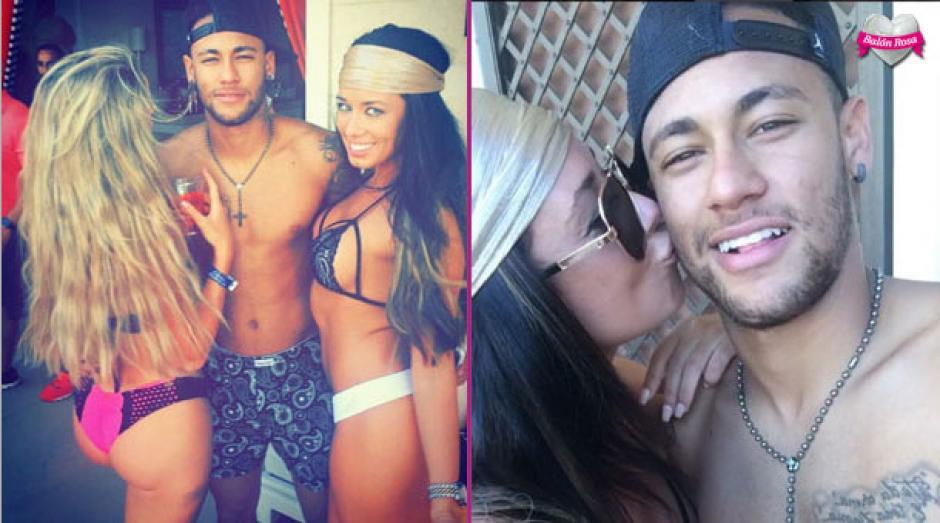 Neymar firmó otro doblete, esta vez en Las Vegas. (Foto: Daniielleperry)