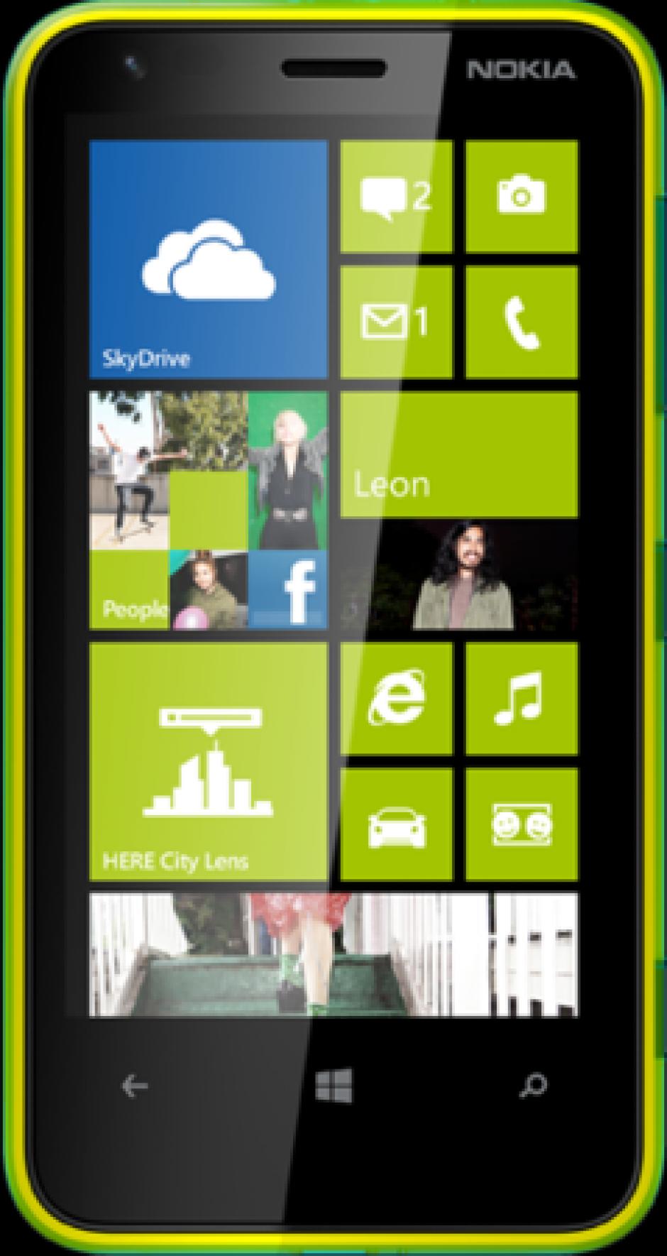 El Smartphone Nokia Lumia 620 con una cámara de 5 megapíxeles y una pantalla de 3,8 pulgadas. Trae integrado un procesador Qualcomm Snapdragon y tiene la capacidad de reproducir 61 horas de música. También puedes cambiarle la carcasas en 6 diferentes colores.