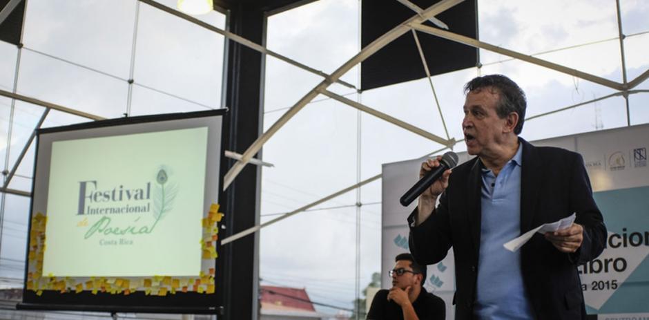 Norberto Salinas de Costa Rica es parte de este festival. (Foto: nacion.com)