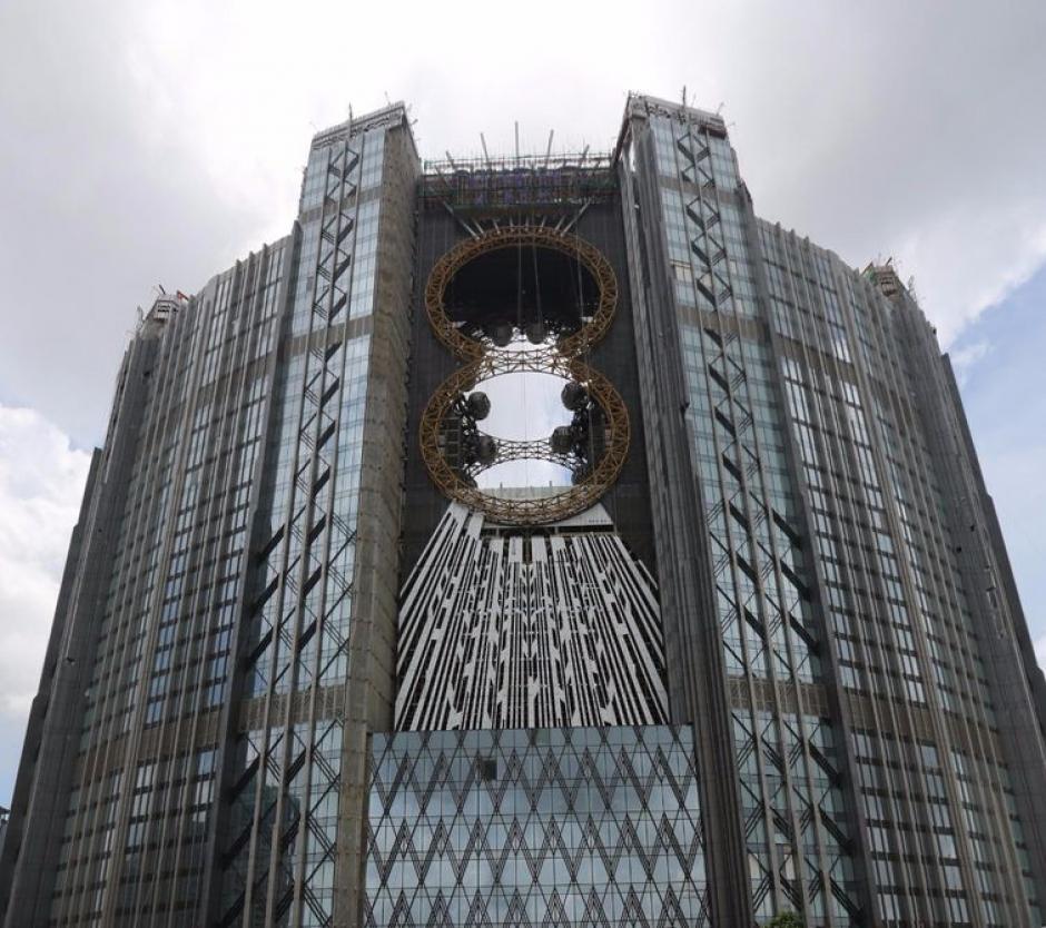 La noria con aspecto de ocho estará en lo alto del complejo Studio City. (Foto: Google)
