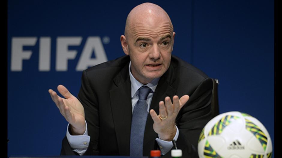 Gianni Infantino, presidente de FIFA, apoya la petición de ampliar a 48 selecciones. (Foto: FIFA)