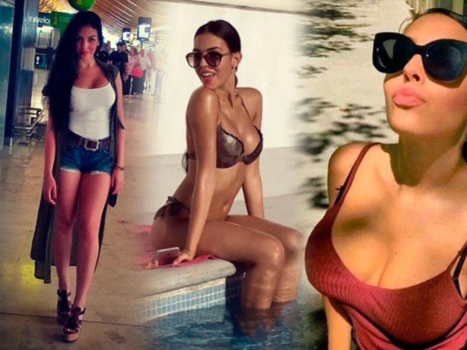 Georgina Rodríguez la novia de CR7 fue despedida por Gucci y contratada por Prada. (Foto: Twitter)