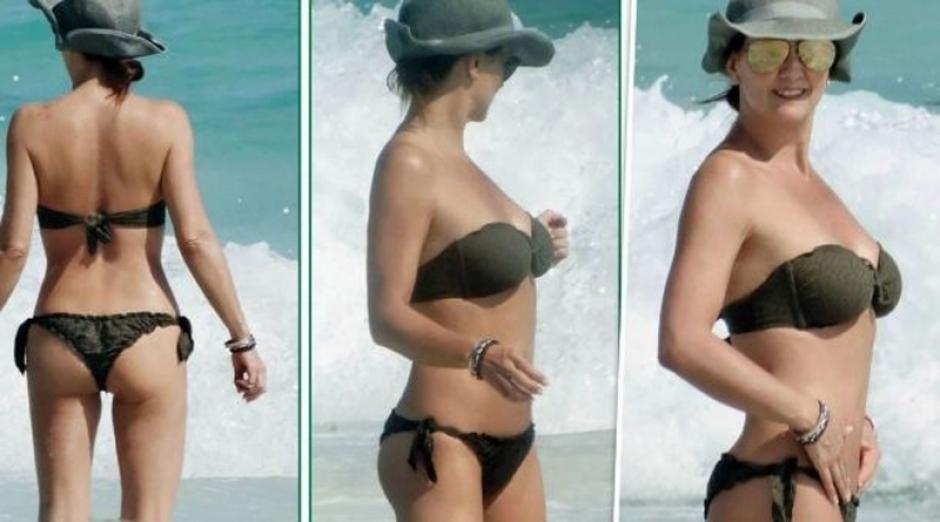 Legarreta pocas veces se deja ver con poca ropa. (Foto: noticiasdelcentro.mx)