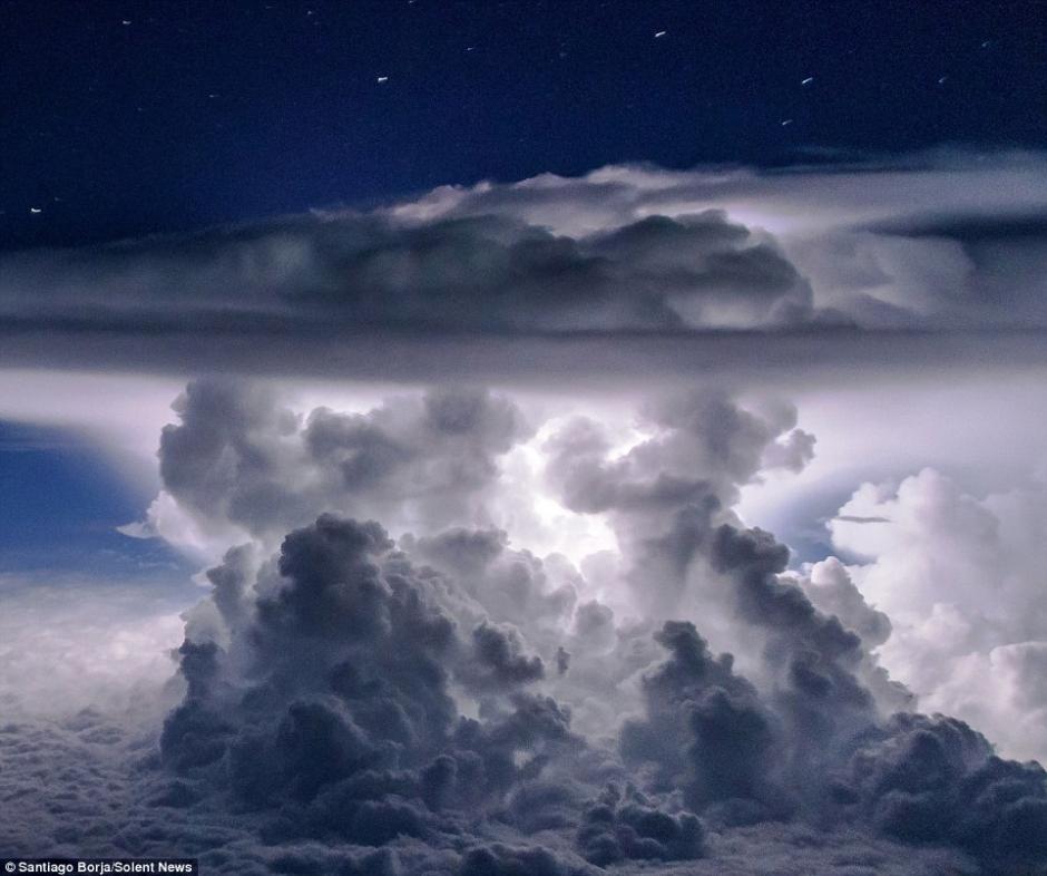 Esta es una maravilla de la naturaleza.  (Foto: Santiago Borja/Solent News)