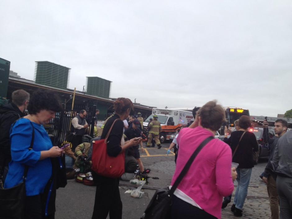 Hasta el momento no se tiene muchos detalles de lo ocurrido. (Foto: @ChrisPascale6)