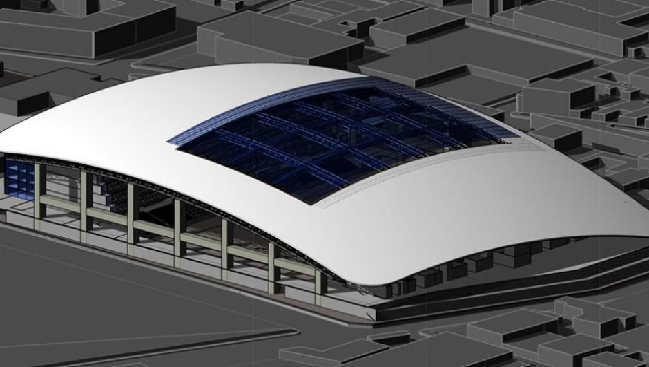 El nuevo estadio tenía capacidad para 12 mil espectadores. (Foto: Futeca)