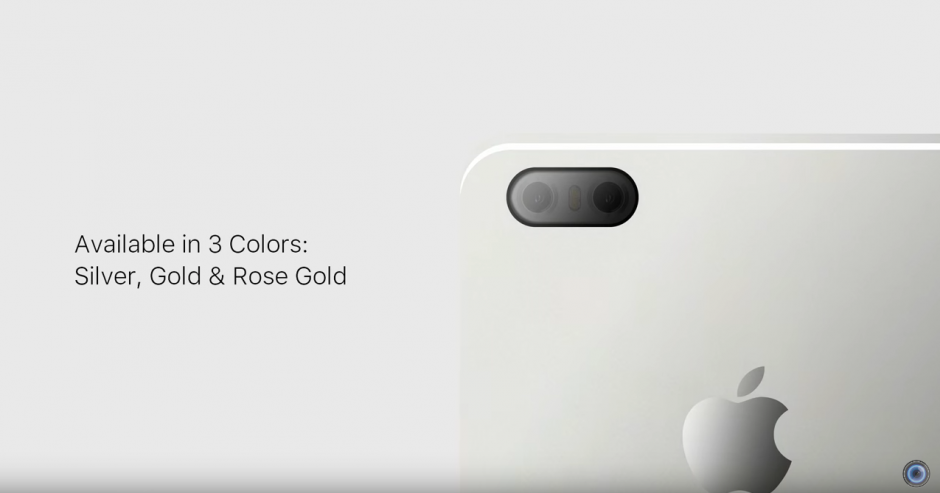 Se rumora que el nuevo iPhone 7 estará disponible en tres colores. (Captura de pantalla: DBS Videography/YouTube)
