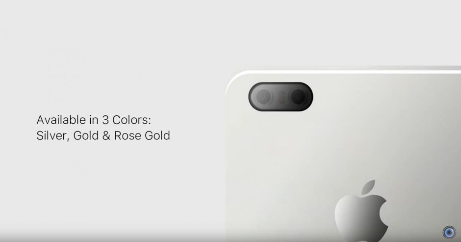 Se rumora que el nuevo iPhone 7 estará disponible en tres colores. (Captura de pantalla: DBS Videography/YouTube)