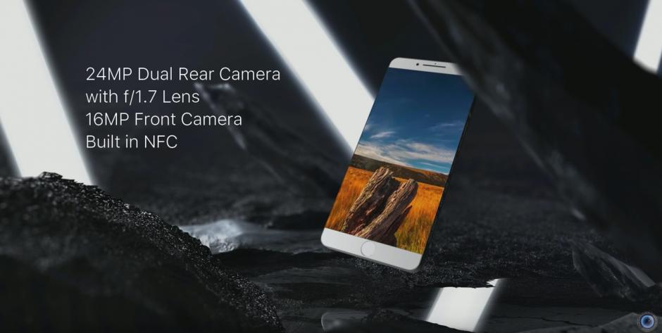 La cámara frontal será de 16 MP. (Captura de pantalla: DBS Videography/YouTube)
