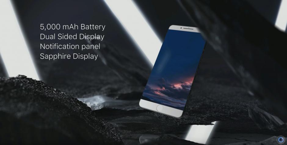 Y vendrá integrado con una batería 5,000 mAh. (Captura de pantalla: DBS Videography/YouTube)