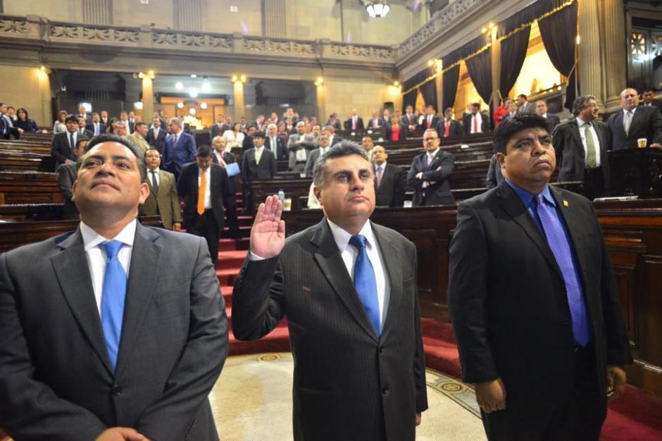 El Congreso eligió al nuevo miembro de la Corte de Constitucionalidad, al abogado Manuel Duarte Barrera. (Foto: Jesús Alfonso/Soy502)