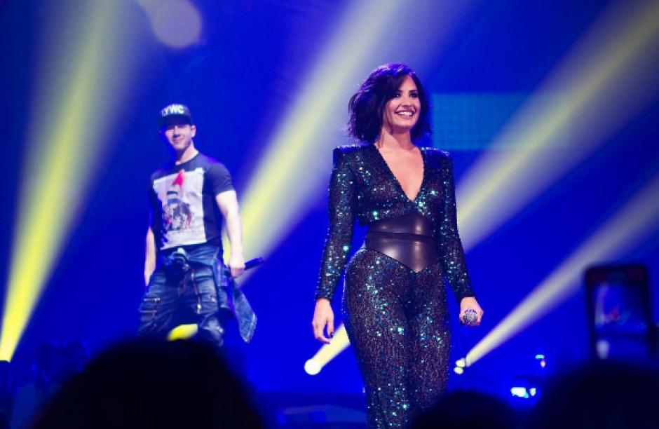 Demi Lovato se adueña del escenario (Foto: Demi Lovato/ Instagram)