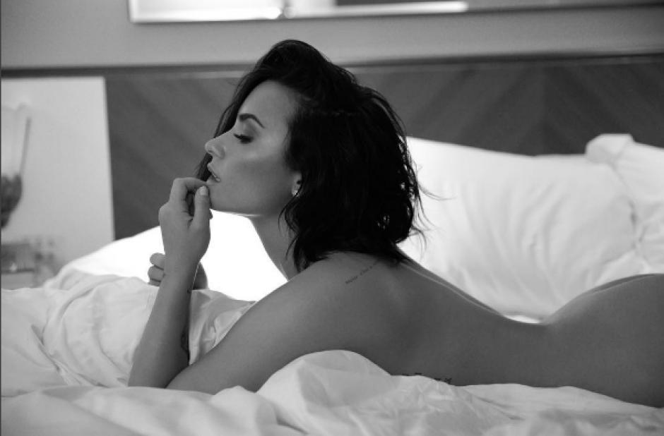 Las sensuales fotografías de Demi Lovato se roban los suspiros de sus fans. (Foto: Demi Lovato/ Instagram)