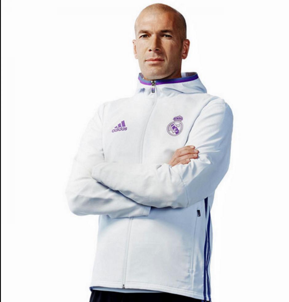 Esta es la sudadera que utilizará el entrenador Zinedine Zidane. (Foto: Marca)