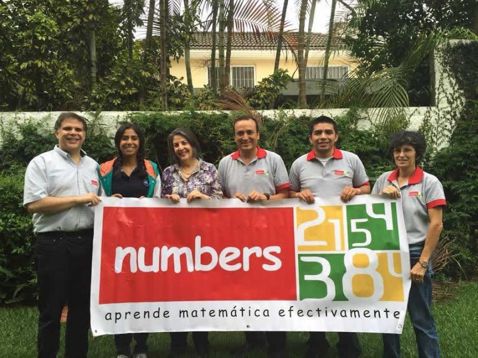 Adolfo Yarhi, Patricia Yarhi, María Olga Sandoval, Ismar Higueros y Arieal Syed esperan que su propuesta ayude al fortalecimiento de la matemática a nivel medio. (Foto: UVG)