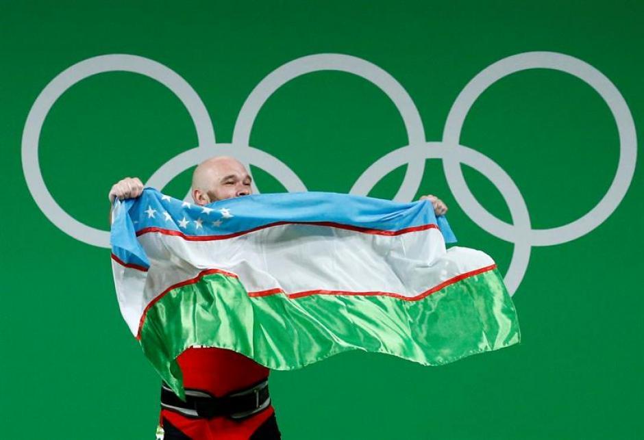 Uzbekistán sólo había logrado oros en lucha y boxeo. (Foto: EFE)